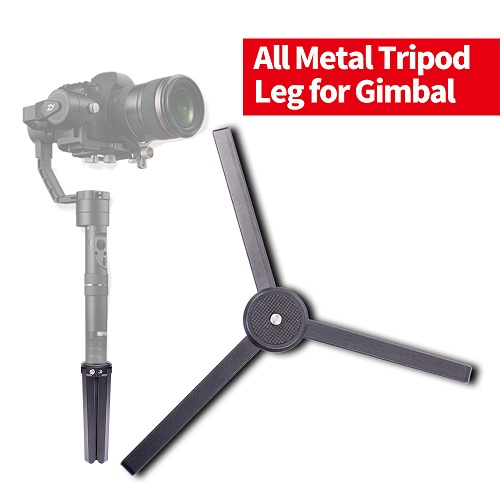 ZYT01 Alloy Aluminum Mini Table Tripod Monopod for DJI RONIN S/ZHIYUN Crane 2/Crane M/Smooth Q/Smooth 3/Evolution/FEIYU A1000/A2000/MOZA/OSMO