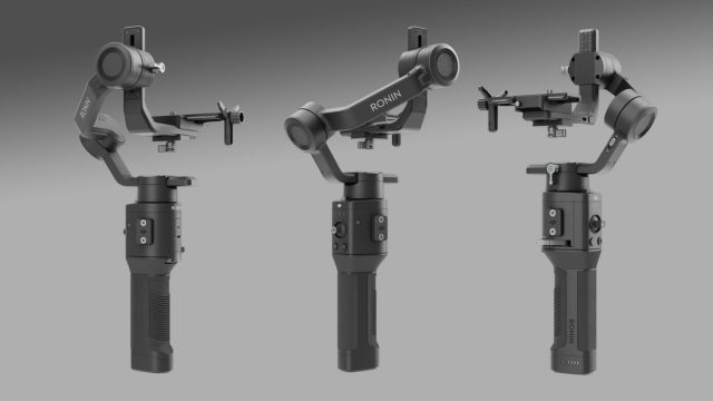 Smaller and Lighter One-Handed Gimbal-DJI Ronin-SC Launched