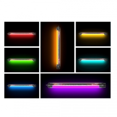 Waterproof RGB Tube Light with Remote Controller Power Bank Function