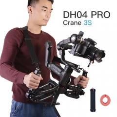 Universal 4th Z Axis Detachable Gimbal Spring Dual Handle with Strap ZY Crane 3S