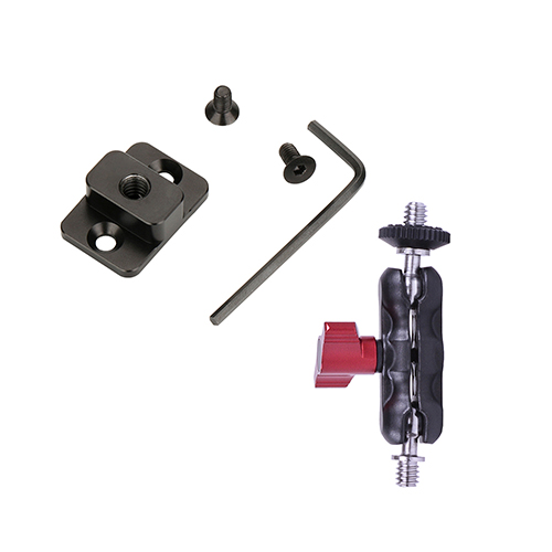 RS-M01M RSM01M Qucik Release Mounting Board Plate for Dji Ronin S Replace Mount Threaded Holes Extend Port for Monitor VS SmallRig