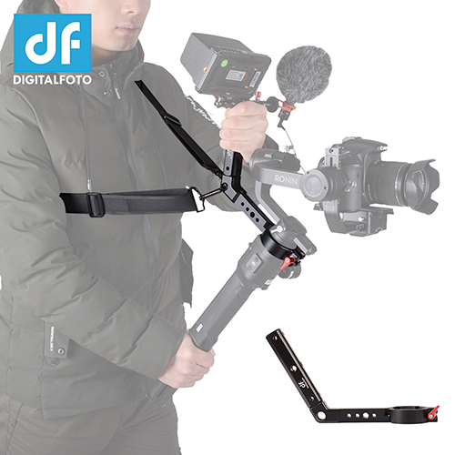 TERMINATOR Versatile Handle for DJI Ronin S with hand release strap