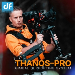 THANOS-PRO Gimbal Support Vest with Z Axis Spring Arm for DJI Ronin S Zhiyun Crane 2 Moza Air 2 PK Tiffen Steadicam Steadimate S