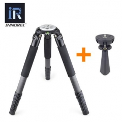 Birdwatching Carbon Fiber Tripod Binocular/Shooting Tripod with 75mm adapter 40kg payload