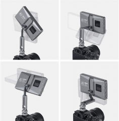 RGB 2500K-8500K Dimmable LED Video Light Cantilever Bracket with APP