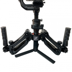 Universal 4th Z Axis Detachable Gimbal Spring Dual Handle with Strap ZY Crane 3S/2S DJI RS2/RSC2