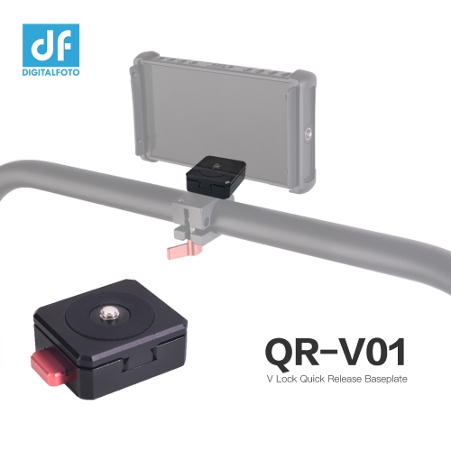 V Lock Quick Release Baseplate